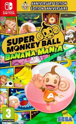 Carátula de Super Monkey Ball: Banana Mania para Nintendo Switch
