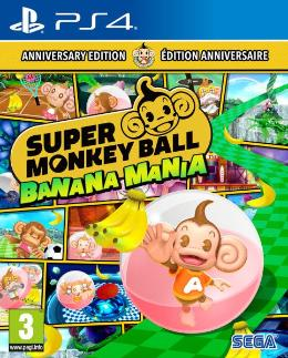 Carátula de Super Monkey Ball: Banana Mania para PlayStation 4