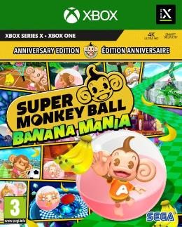 Carátula de Super Monkey Ball: Banana Mania para Xbox