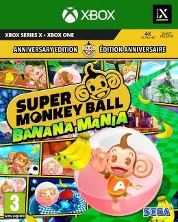 Carátula de Super Monkey Ball: Banana Mania para Xbox One