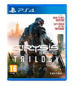 Carátula de Crysis Remastered Trilogy para PlayStation 4