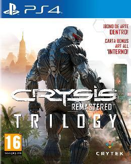 Carátula o portada Europea del juego Crysis Remastered Trilogy para PlayStation 4