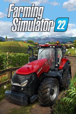 Carátula de Farming Simulator 22 para PlayStation 4