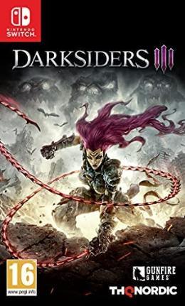 Carátula de Darksiders III
