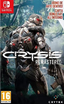 Carátula de Crysis Remastered Trilogy para Nintendo Switch