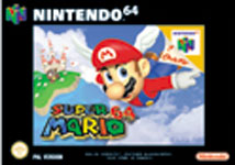Carátula de Super Mario 64