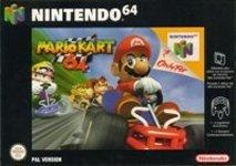 Car�tula de Mario Kart 64
