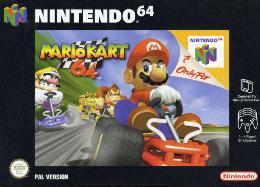 Carátula de Mario Kart 64 para Nintendo 64