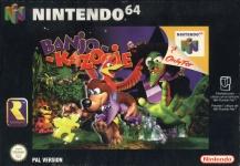 Carátula de Banjo-Kazooie