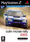 Carátula de Colin McRae Rally 2005 para PlayStation 2