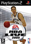 Carátula de NBA Live 2005 para PlayStation 2