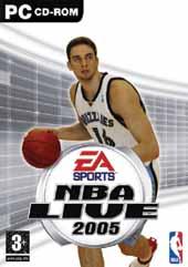 Carátula de NBA Live 2005 para PC