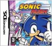 Carátula de Sonic Rush para Nintendo DS