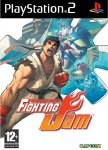Carátula de Capcom Fighting Jam para PlayStation 2