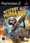 Carátula de Destroy All Humans! para PlayStation 2