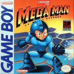 Carátula o portada EEUU del juego Mega Man: Dr. Wily's Revenge para Game Boy