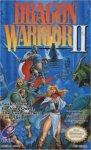Carátula de Dragon Quest II para NES