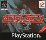 Carátula de Metal Gear Solid Special Missions para PSOne