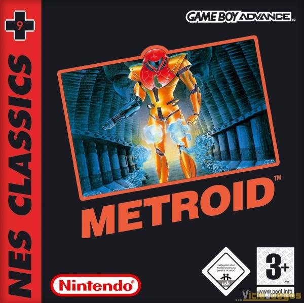 Todas Las Caratulas O Portadas Del Videojuego Nes Classics Metroid