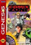 Carátula de Comix Zone para Mega Drive