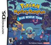 Carátula o portada EEUU del juego Pokémon Mundo Misterioso: Equipo de Rescate Azul para Nintendo DS
