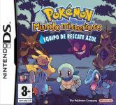 Carátula de Pokémon Mundo Misterioso: Equipo de Rescate Azul para Nintendo DS
