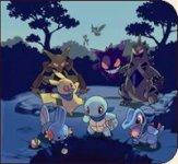 Carátula o portada Artwork del juego Pokémon Mundo Misterioso: Equipo de Rescate Azul para Nintendo DS