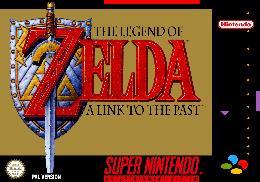 Carátula de The Legend of Zelda: A Link to the Past