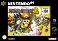 Car�tula de Mario Party 2