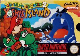 Carátula de Super Mario World 2: Yoshi's Island para Super Nintendo