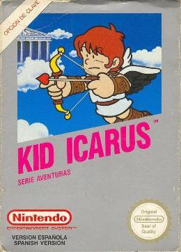 Carátula de Kid Icarus para NES