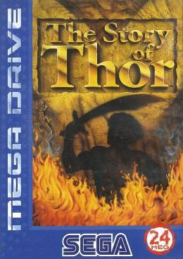 Carátula de The Story of Thor para Mega Drive