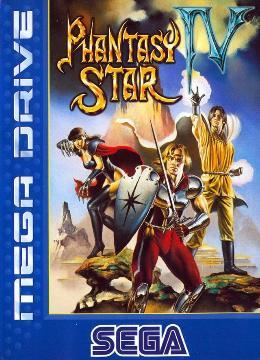Carátula de Phantasy Star IV para Mega Drive