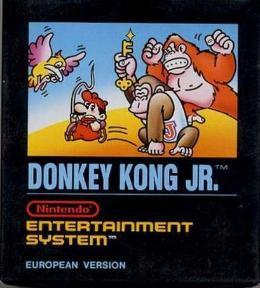 Carátula de Donkey Kong Jr. para NES