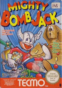Carátula de Mighty Bomb Jack para NES