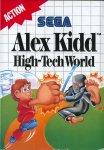 Carátula de Alex Kidd in High-Tech World