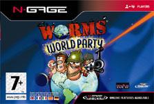 Carátula de Worms World Party