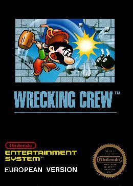 Carátula de Wrecking Crew para NES