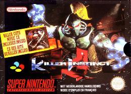 Carátula de Killer Instinct para Super Nintendo