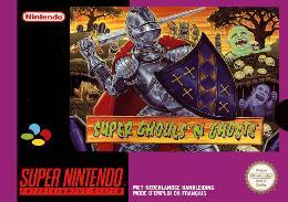 Carátula de Super Ghouls 'n Ghosts para Super Nintendo