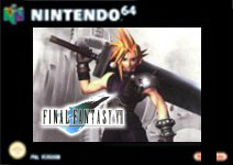 Carátula de Final Fantasy VII para Nintendo 64