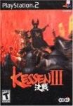 Carátula o portada EEUU del juego Kessen III para PlayStation 2