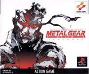 Carátula de Metal Gear Solid Integral para PSOne