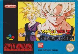 Carátula de Dragon Ball Z: La Légende Saien