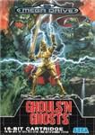 Carátula de Ghouls 'n Ghosts para Mega Drive