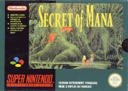 Carátula de Secret of Mana