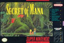 Carátula de Secret of Mana para Super Nintendo