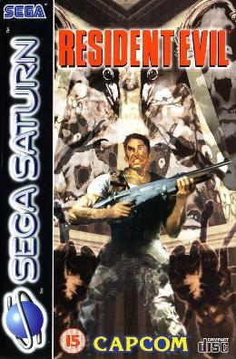 Carátula de Resident Evil para Saturn