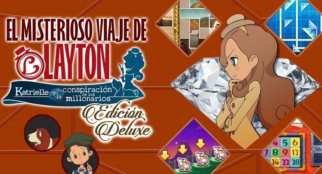 El misterioso viaje de Layton: Katrielle y la conspiración de los millonarios - Edición Deluxe