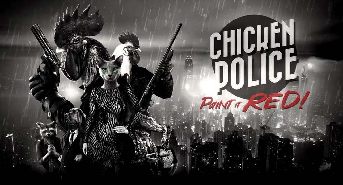Análisis de Chicken Police: Paint It Red!